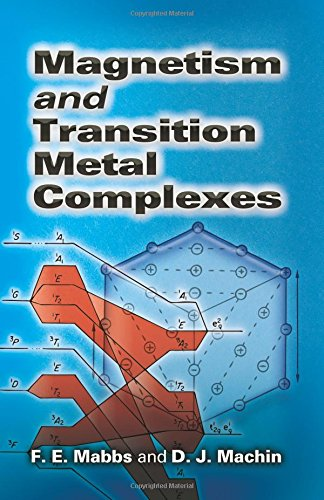 Magnetism and Transition Metal Complexes (Dover Books on Chemistry) por F E Mabbs