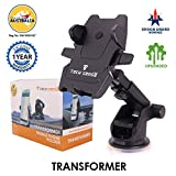 #9: Tech Sense Lab (Australia)-Transformer one touch 360 degree Rotating Car Mobile Holder For Dashboard and Windshield - Upgraded 2018 model