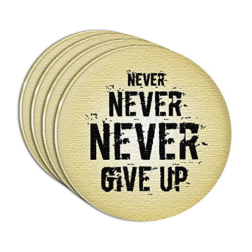 never-never-never-give-up-acrylic-coaster-set-of-4