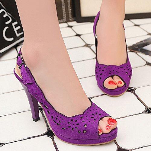 Mee Shoes date Schuhe Straßenschuhe Sommerschuhe casual Alltagsschuhe Lila