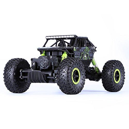 1: 18 Auto Radiocomandata, Yokkao 2.4G RC Buggy Macchina Fuoristrada Camion con Grandi Pneumatici (Verde)