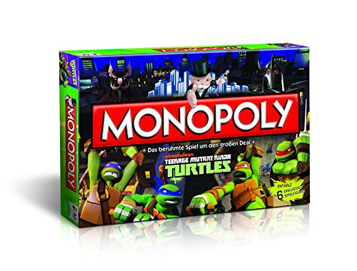 Monopoly Winning Teenage Mutant Ninja Turtles 42808