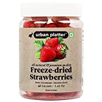 Urban Freeze Dried Whole Strawberry, 40g / 1.4oz [All Natural, Premium Quality, Delicious]