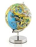 """Globee Los Angeles 9"""" Night Lights Illuminated Globe Science Kit"""