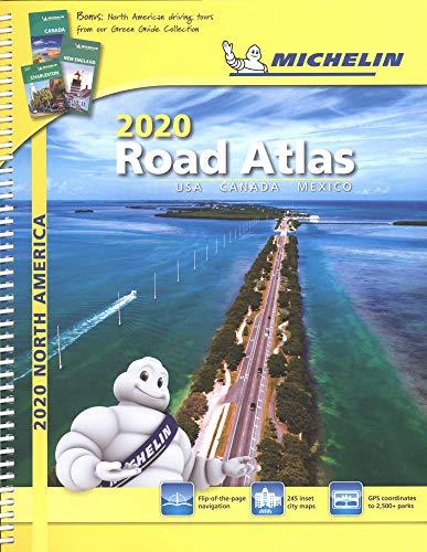 Michelin North America Road Atlas 2020: Usa, Canada and Mexico (Michelin Road Atlases)