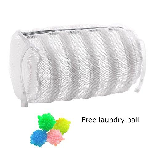 Silver_river Schuhwaschbeutel Schuh-Wäschenetz für Waschmaschine Wäschenetz Wäschebeutel mit Reißverschluss