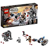 LEGO 75195 Star Wars Speeder vs First Order Walker Microfighters Building Set, Star Wars minifigures, Star Wars Toys for Kids