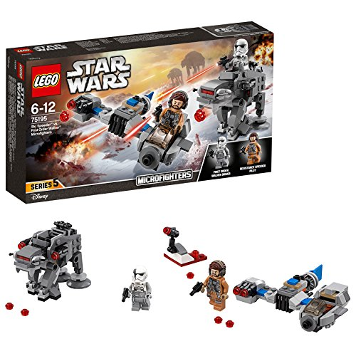 Lego Star Wars TM-Ski Speeder Contro Microfighter First Order Walker,, 75195