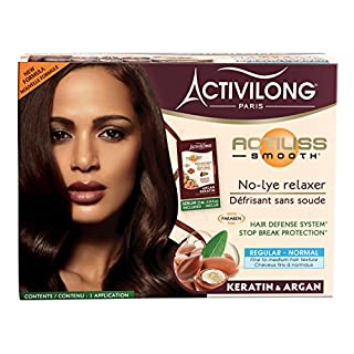Activilong Actiliss Smooth No-lye Relaxer Organic Argan & Keratin Normal-Regular