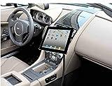 LEDELI CD Schacht KFZ Auto Tablet PC Halterung Handy Smartphone Magnethalterung Autohalterung für Armaturenbrett Kopfstützenhalterung (für Sitzschienen)