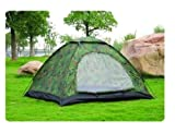 DC'S PORTABLE CAMPING & HIKING TENT FOR 4 PERSONS.