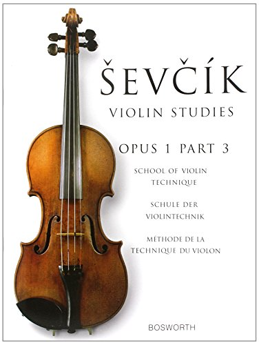 Sevcik Violin Studies