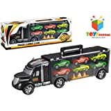 Toys Bhoomi Truck Carry Case City Set Cars