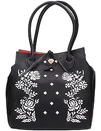 "Borsa Donna 2 Manici Roxy Bag ""Impossibile"" | Le Pandorine | PE18DAZ02185-Black"