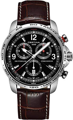 CERTINA DS Podium Herren-Armbanduhr 46MM Batterie C001.647.16.057.00