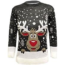 Jersey con diseño retro de Navidad para niños, 3–12años