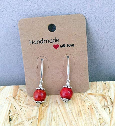 6a916bdd4c31 Con un par de manos - Handmade   Joyería   Pendientes