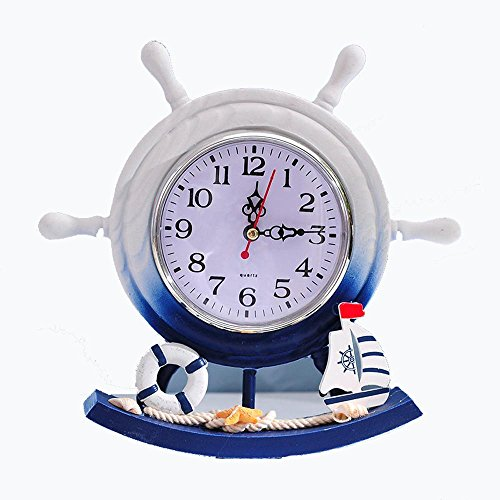 Kreative Persönlichkeit Ruder Uhr Wohnzimmer Uhr Dekoration (Colts-dekor)