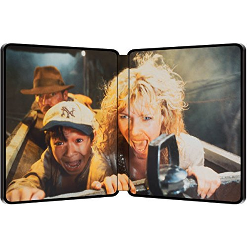 Indiana Jones and the Temple of Doom – Exklusive Limited Steelbook Edition (inkl. Deutscher Ton / auf 4000 Stk. geprägt) (Der Tempel des Todes) [Blu-ray] - 2