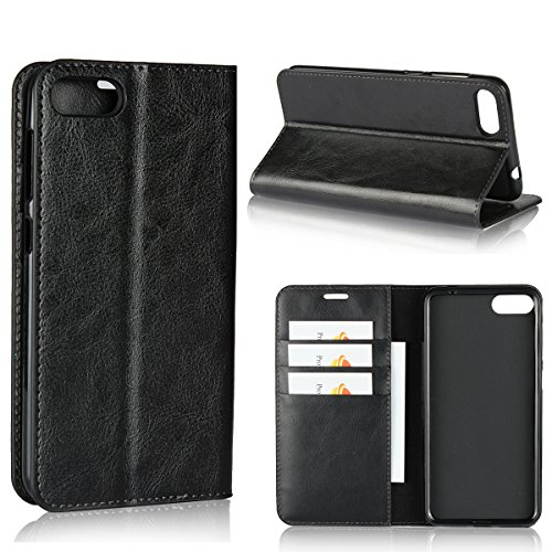 Casefirst ASUS ZenFone 4 Max ZC520KL Leather Wallet Case with Shell ASUS ZenFone 4 Max ZC520KL Flip Cover, Shell, Cover Case ()