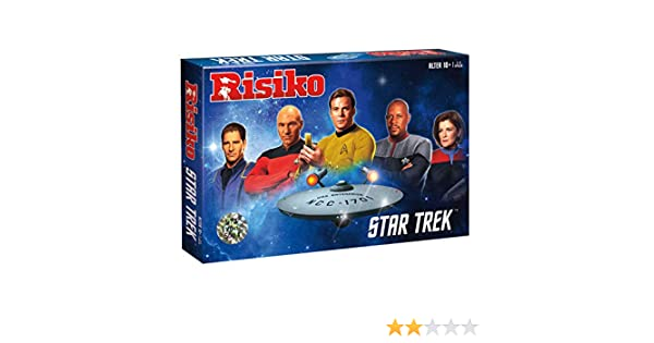 Risiko Star Trek Startrek Strategie Spiel Gesellschaftsspiel Brettspiel deutsch
