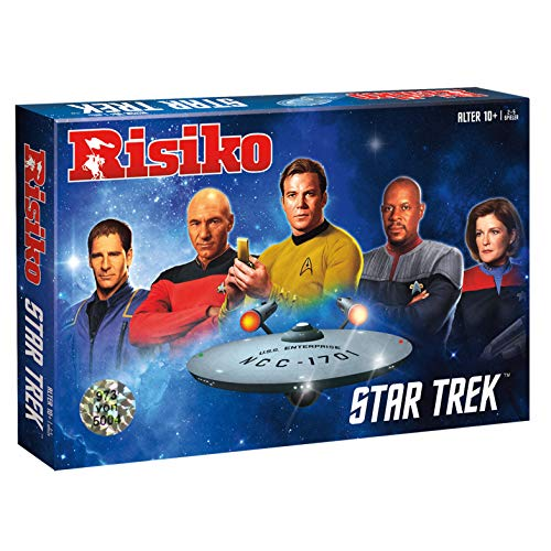 Winning Moves Risiko Star Trek Strategie Spiel Gesellschaftsspiel Brettspiel deutsch (Original Star Trek Kostüm)