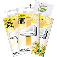 AREON Clima Fresh Aroma Dulce de Vainilla Aire Acondicionado en la habitación Ambientador Hogar Oficina Restaurante