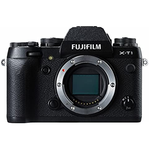 Fujifilm X-T1 - Cuerpo de cámara EVIL de 16.3 MP (pantalla 3