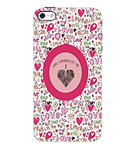 PrintDhaba Quote D-4167 Back Case Cover for APPLE IPHONE 4 (Multi-Coloured)