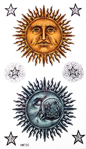 Temporaires Lune Etoiles