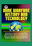 Mine Warfare History and Technology: Comprehensive Review from Early Mines, Admiral Mahan's Views, World War I and II, Bushnell's Keg, 20th Century Developments, Magnetic Influence, Sweeping, New Tech