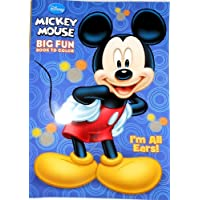 Amazon.co.uk: Mickey Mouse - Colouring Books & Pads / Arts & Crafts ...