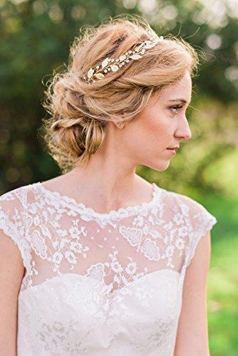 Yean Hochzeit Haarschmuck Brautschmuck Haar Vines für Braut oder Brautjungfern