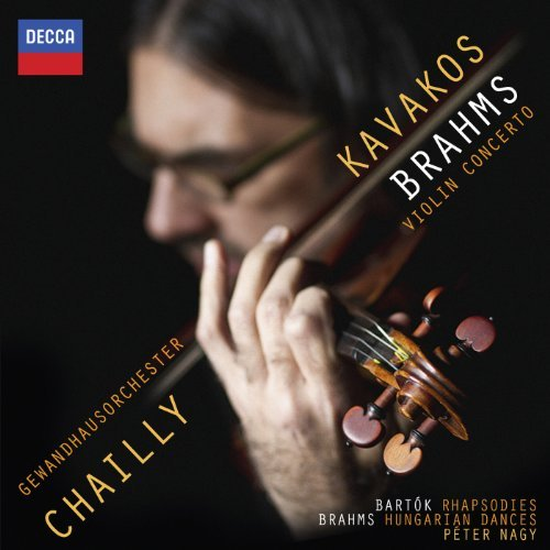 Brahms: Violin Concerto by Leonidas Kavakos (2013-10-08)