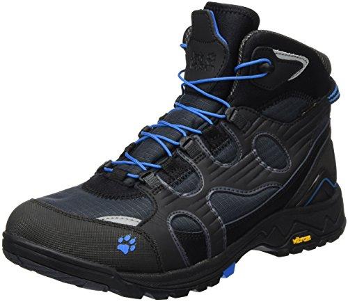 Jack Wolfskin Herren Crosswind WT Texapore Mid M Trekking-& Wanderstiefel, Grau (Brilliant Blue 1152), 47.5 EU
