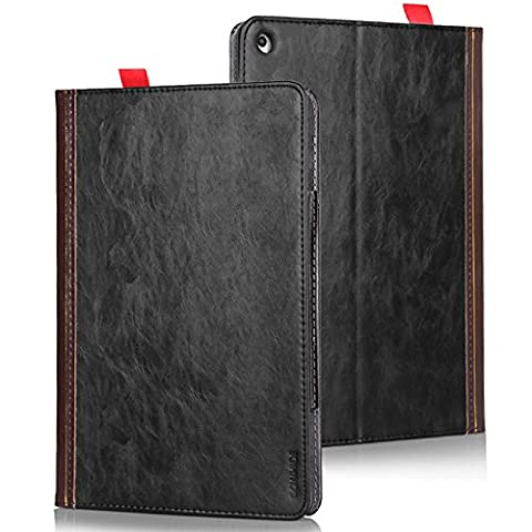 Antique European Jazz Cowhide Mobile Bag for Apple ipad Air Protective Cover Case Bag Pouch Sleeve Cover Protection 2 in from Hamburg Antique Black