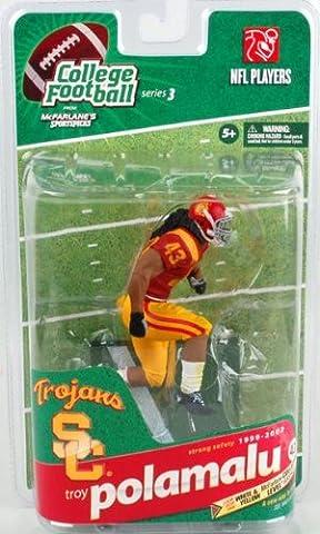 Ncaa College Footballe Series 3 Troy Polamalu Usc figurine