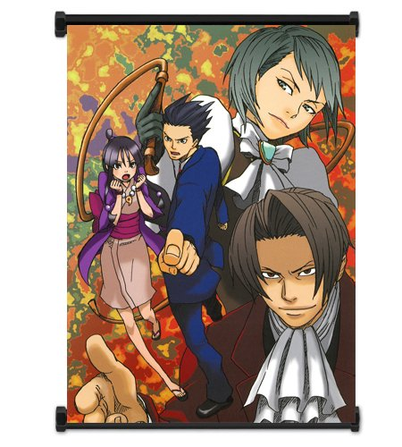 Mark Rocks Ace Attorney: Phoenix Wright Apollo Justice Game Fabric Wall Scroll Poster (16'x21') Inches