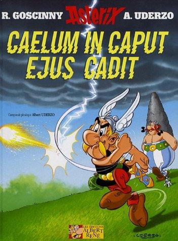 Astérix, tome 33 : Caelum in caput ejus cadit (Édition en latin)