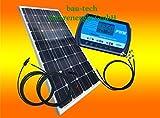 100 Watt 12 V Isola impianto, Solar kit, base per giardino campeggio