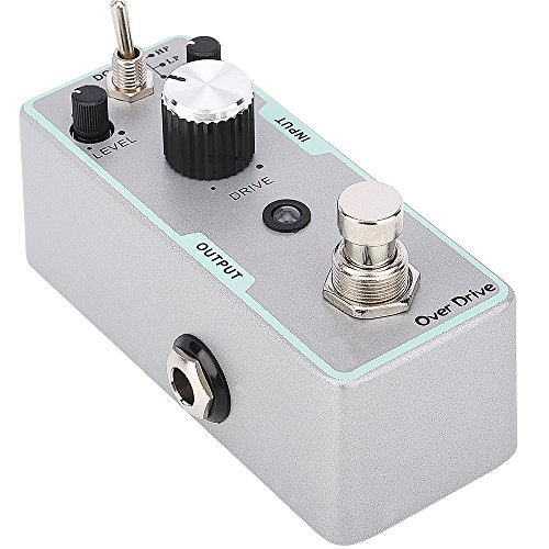 Micro Overdrive Boost Pedal Guitarra Eléctrico Efecto Pedal True Bypass