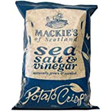 MACKIE'S Sea Salt And Vinegar Potato Crisps - Lot de 4