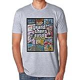 Gta Pokemon Theme Poster Large Herren T-Shirt