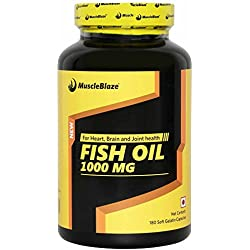 Muscleblaze Fish Oil - 180 Capsules
