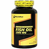 #8: MuscleBlaze Omega 3 Fish Oil 1000 mg (180mg EPA and 120mg DHA) (180 capsules)