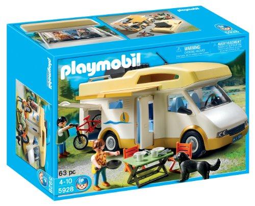 playmobil(プレイモービル)camper/キャンピングカーセット 5928