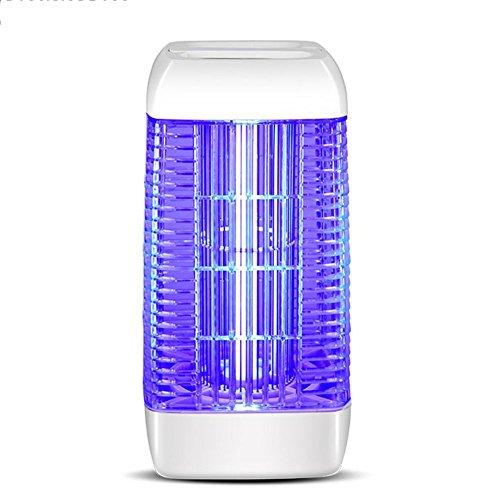 Moskito-Mörder-Lampen-Schädlingsbekämpfungsmittel-Falle-Elektroschock-Einatmen-Stiller Fach-Speicher-Kasten 10W Weiß, 215 * 215 * 414mm -