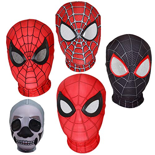 Hood Bekleidungszubehör Männer und Frauen Headwear Requisiten Halloween Dress Up,A-Adult Code (Dress-code Für Die Halloween-party)