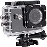 Original SJCAM SJ4000+ Plus WiFi Standard Version Action Camera Sports Helmet Head video Camcorder DVR 1080P 170 Degrees A+ Grade HD Wide Angle Car Diving Bicycle Action Camera(Black)