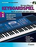 Der neue Weg zum Keyboardspiel, Band 1 - mit CD. - Axel Benthien